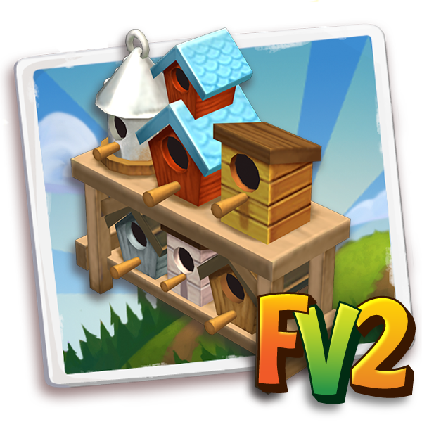 deco mothersday birdhouse display a icon cogs 1 Farmville 2 Unreleased Items for this week (04/21)
