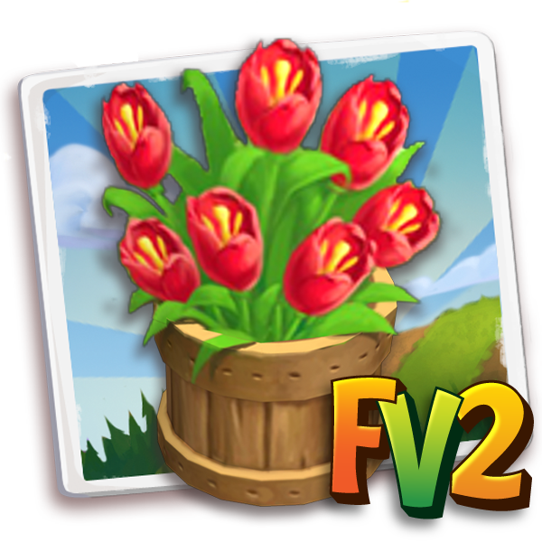 deco mothersday tulip bushel a icon cogs 1 Farmville 2 Unreleased Items for this week (04/21)