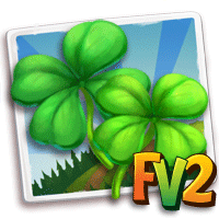 Four Leaf Clover Pair